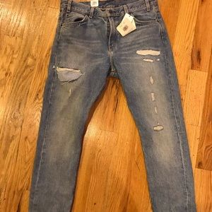 Levi's 505c Cropped Badass Jeans